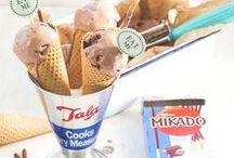 Eis | Sorbet | Ice Cream | Halbgefrorenes | Frozen Desserts / Eis, Eis, Baby! Es gibt leckerste Eiscreme: vom erfrischenden Popsicle mit Früchten, Wassereis und Sorbet bis hin zu cremigem Sahne- und Milcheis, Semifreddo, Granitas und Halbgefrorenem. Hier kommt jeder Eisfan voll auf seine Kosten!