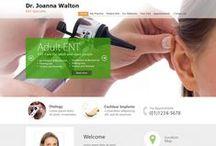 Recent Medical Website Designs / Websites for Surgeons, Websites for Doctors, Websites for Medical Professionals in Australia