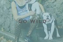 GO WILD / Take a walk on the wild side in these fun animal prints.