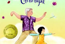 A MORNING WITH GRANDPA blog tour & other posts / The blog tour for A MORNING WITH GRANDPA,written by Sylvia Liu & illustrated by Christina Forshay (Lee & Low Books). Inspiration, links, and more.