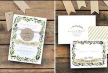 Wedding Stationery / The best wedding invitations