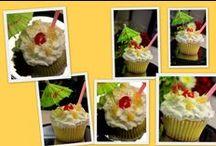 cupcakes  I bake / see more www.sugarbundlebetty.com