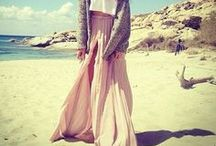 .long skirt / Inspirations to use long skirts