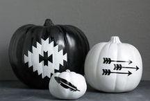 Hot Fall Decor / Fun fall decor for the Modern Home #fall #pumpkins #interiordecor