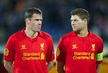 LFC - Gerrard & Carragher / My Guys! Liverpool Football Club, English Premier League soccer and England International stars / by Tere Gidlof