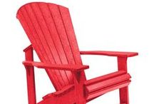 CRP Products / New line of outdoor furniture added to our site. Timeless yet comfortable and completely weatherproof - Earth-friendly materials - Each piece is all made from recycled plastic.  http://www.carolinarustica.com/shop-by-brand/furniture/cr-plastic-products