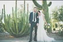 Desert of love / Getting married in a desert or with a desert theme is so trendy this year! It's pure romanticism...