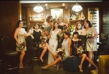 Great Gatsby Wedding / Great Gatsby Wedding - black and gold, sequin ,peacock, feather, glamour.... Perfect wedding theme inspiration / idea !