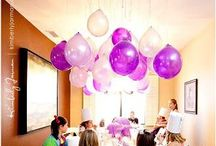 Party Time--Birthday Ideas / by Samantha // YourGoldenTicket