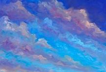 "Cloudy Day Rendered / ""Clouds are the sky's imagination."" —Terri Guillemets / by ~ PW. Ragont ~"