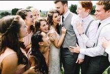 WEDDING DAY SQUAD / Bridal Party {inspiration}