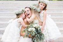 WEDDING DAY LITTLES / Flower Girl and Ring Bearer Inspiration