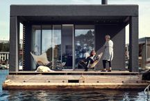 Floating Home / I saw an advert for a programme about these. I love the idea.