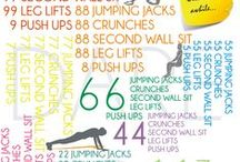 Workout ideas / fitness ideas | crossfit workouts | workout ideas | yoga | strength training | gym | exercise