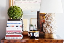 How to accessorize. / (Just a bunch of pretty vignettes.) / by Jessica Miller