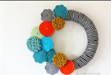 Home: Wreaths / Wreaths, of all occasions, to adorn the door / by Tiffanie Luster