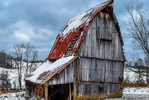 Barns / by Sharon Sandlin