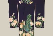 """Kimono / The word """"kimono"""" literally means a """"thing to wear"""" (ki """"wear"""" and mono """"thing"""")"""