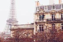 Paris! / One of my dreams is to live in paris. Je t'aime à Paris!