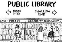 books, libraries, and librarian shenanigans / by Sarah Schmidt