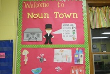Nouns / Ideas for teaching nouns in the elementary classroom / by Primary Junction