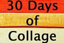 30 Days of Collage / My popular 30 Days of Collage online course is now open for registration. Join our creative community here: http://www.stephanielevy.com/30-days-of-collage
