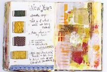 Art Journals / Do you love art journaling? Join me for #100daysofcollage, details here: http://www.stephanielevy.com
