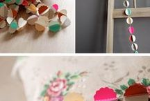 Garlands & Balloons / Party decoration ideas, mostly DIY of course ;-)