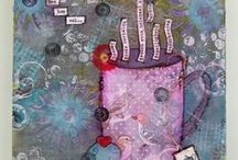 ➽ My Mixed Media Projects / all things mixed media, as shown on my blog http://littledotofcreativity.blogspot.nl/