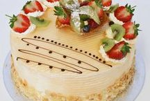 Patisserie Cakes in London / Delicious patisserie gateaux. Perfect for parties and dinner parties.