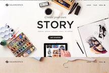 Websites / by Natalia Creative