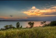 The Great Outdoors of Grapevine, Texas / More than 22 miles of trails of paved and natural trails, the 8,000 acre Lake Grapevine, biking, hiking, boating, parks and more make Grapevine an outdoor enthusiast's dream!