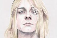 Kurt Portraits / Kurt Cobain is source of inspiration for many artists including me.