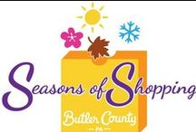 Seasons of Shopping / Save 10%, get a free reusable shopping bag and gifts, make a donation to charity, and enter to win a grand prize!  www.VisitButlerCounty.com/seasonsofshopping / by Butler County Tourism