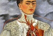Frida Kahlo / Frida Kahlo de Rivera (Spanish pronunciation: [ˈfɾiða ˈkalo]; July 6, 1907 – July 13, 1954), born Magdalena Carmen Frida Kahlo y Calderón was a Mexican painter known for her self-portraits.