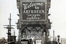 ABERDEEN / Aberdeen is a city in Grays Harbor County, Washington, United States. I visited there once and left a corner of my heart there. Yes, I traveled there because Kurt Cobain was born in Aberdeen and he lived there during his childhood and teenage years. I'm totally obsessed with this city now and I want to travel back there again in the future.