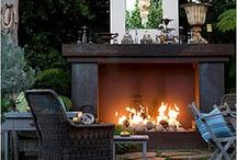 Outdoors--patios, porches, gardens, firepits, pools, etc / by ✤Natalie VanHook✤