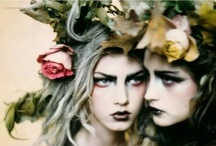Fairy dresses / Fantasy gowns / Haute couture / Gorgeous garments / by Valeria Tirado