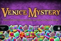 Venice Mystery Puzzle Game / Venice Mystery is the highly popular puzzle game for your iPad and Kindle fire. Venice Mystery has been awarded 1st Runner-Up Best Card/Mahjong Game at BigFishGames.com #ipadgames #ipad #games #mahjong #puzzle Download for your iPad https://itunes.apple.com/app/venice-mystery-full/id387591881?mt=8  Download for Kindle http://www.amazon.com/Gamgo-Venice-Mystery-Full/dp/B00AEC8UVU
