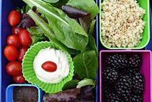 Healthy Lunchbox / Healthy portable foods... / by ✤Natalie VanHook✤