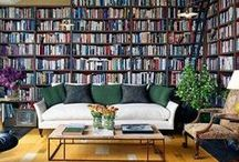 Bookshelf Styling / Inspiration and ideas to make your bookshelf as stylish as they are useful.