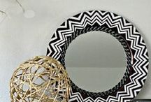 create: mirror & clock. / by Cheryl Shaulis