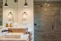 Master Bath Remodel / Ideas for our master bat remodel. The perks of mold remediation... a brand new bathroom!