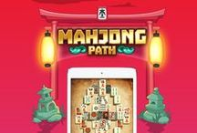 Mahjong Path Solitaire / All about our game Mahjong Path Solitaire. Available on the App Store https://itunes.apple.com/app/apple-store/id1096666045?pt=17498&ct=pinterest&mt=8
