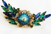 * Vintage Brooches *