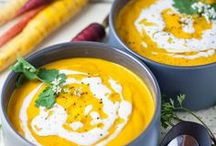 Healthy Soup and Salad Recipes / Healthy soup and salad recipes and ideas.