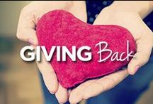 Giving Back / by Lucille Roberts | The Women's Gym