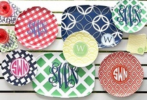 Crazy about monograms