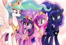 {Geek: My Little Pony} / Because PONIES!!!