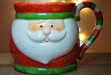 * Christmas mugs *